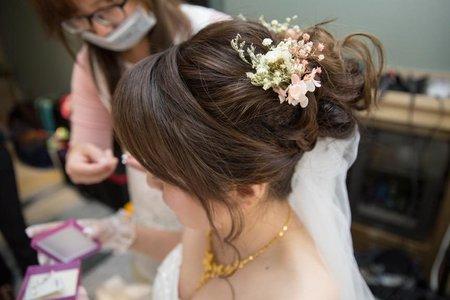 新娘訂婚結婚歸寧造型