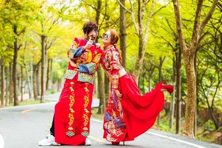 靜綺&安迪 自助婚紗