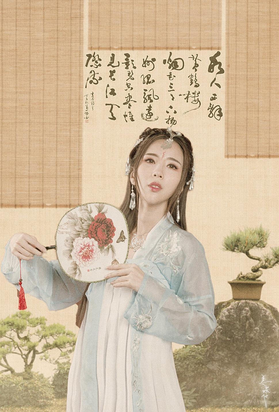 中国风 (37)-2 - 靜渝/新娘秘書整體造型/北中南全省服務《結婚吧》