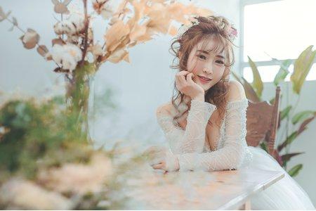 怡菁個人婚紗寫真