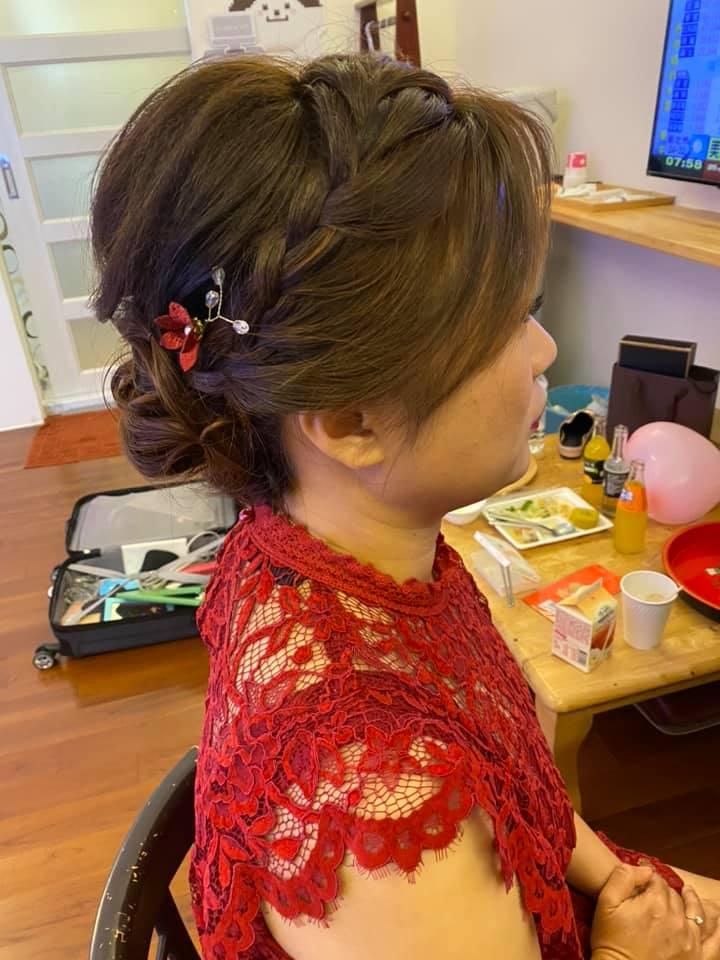 媽媽伴娘妝髮服務作品