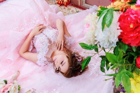 梨子個人甜美婚紗