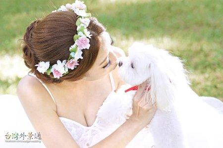 情侶婚紗 l 寵物婚紗