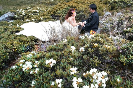 高山走拍 l 雪山圈谷婚紗 l 自主婚紗方案