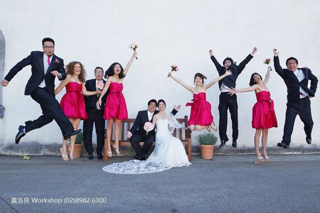 戶外證婚 l 舊金山婚禮 l  海外婚禮