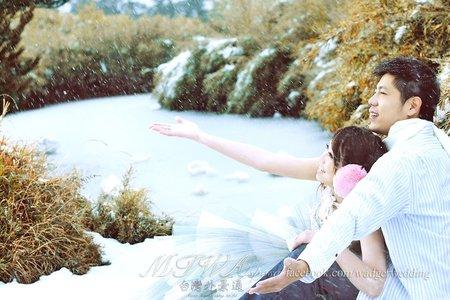 Taiwan旅拍 l 雪景婚紗 (合歡山)