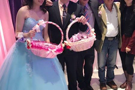 季萱結婚送客造型