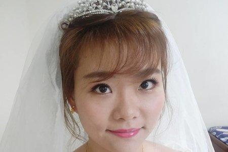 娟結婚白紗造型