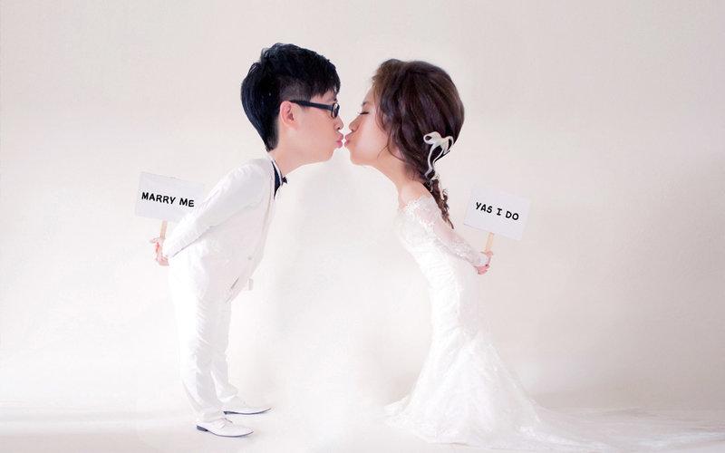 1+1 手工婚紗 婚紗攝影 自助婚紗