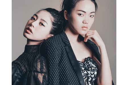 韓風禮服-伊林模特側拍