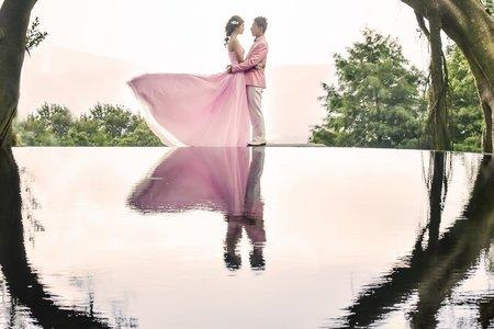 浪漫甜美風婚紗