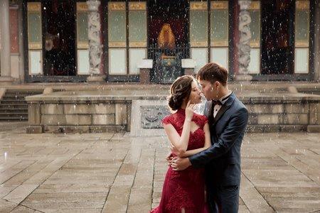 【復古風】中式婚紗