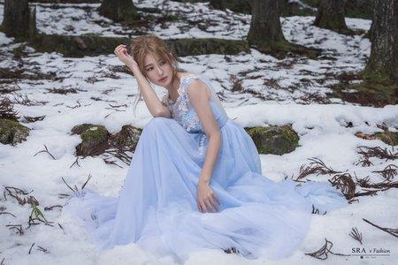 京都婚紗攝影-雪地婚紗照-1+1手工婚紗