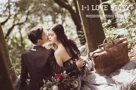 1+1手工婚紗推薦-我最親愛的妳