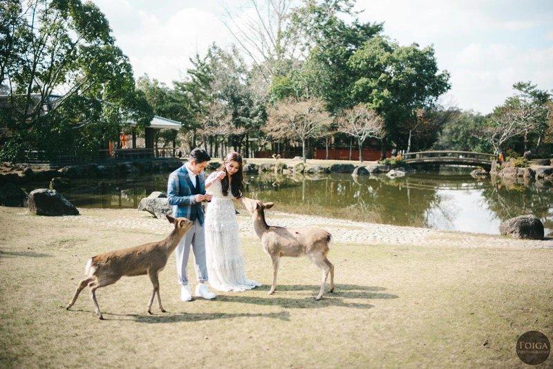 海外婚紗攝影-奈良拍婚紗