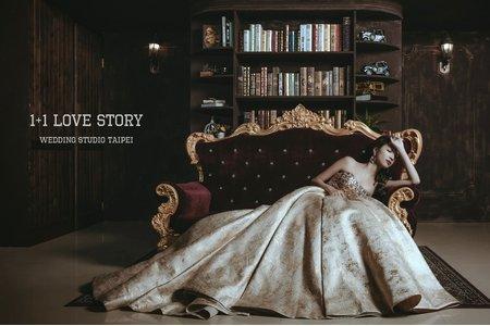 時尚復古  |  個人婚紗  |  1+1手工婚紗