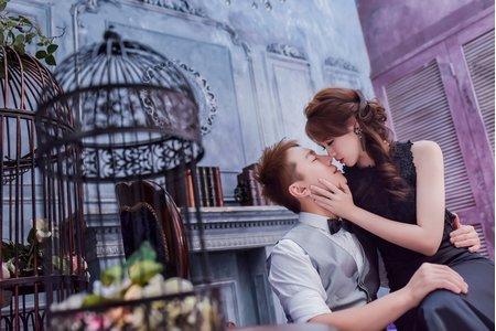 浪漫甜美風婚紗|合作攝影師:婚攝美克