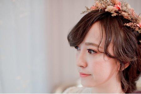 乾燥花~新娘
