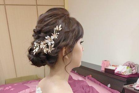 韓風氣質典雅新娘/Ting 婷make up