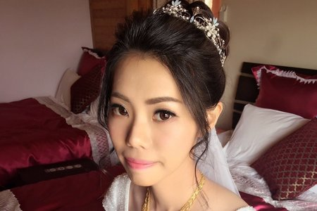 Ting婷 make up芳宇bride結婚