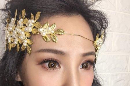 混血兒妝感/桃園新秘婷婷/台北新秘/宜蘭新秘