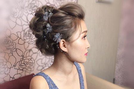婚禮歐美風格/Ting 婷 make up/桃園/台北/宜蘭新秘