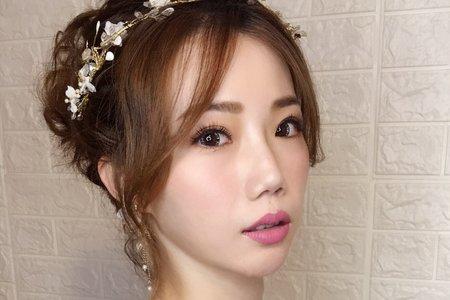 氣質仙氣造型/Ting 婷 make up/桃園/台北/宜蘭新秘