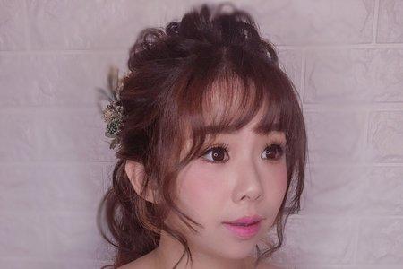 日系可愛妝髮/Ting 婷make up/桃園/台北/宜蘭/新秘
