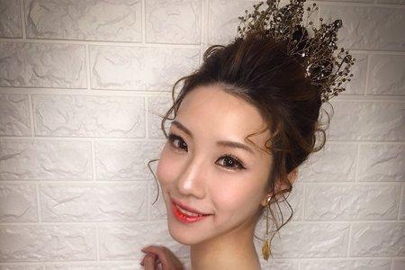 皇冠/穿越時空造型/Ting婷 make up/台北新秘/桃園新秘/宜蘭新秘