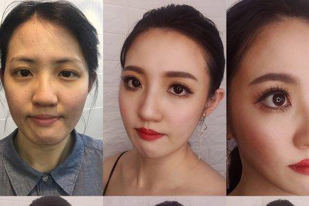 明星風格造型Ting婷Make up
