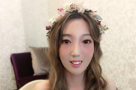 單眼皮眼型調整/噴槍彩妝/台北桃園宜蘭台中新秘