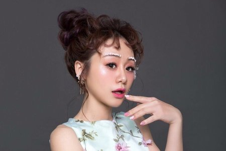 Ting 婷 make up婚紗創作(甜美耳掛造型)