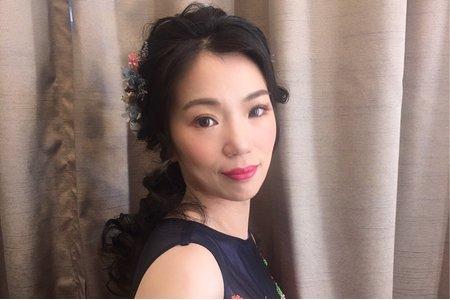 黑髮新娘/Ting婷make up/噴槍彩妝