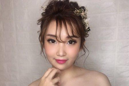 日系盤髮造型/Ting婷make up