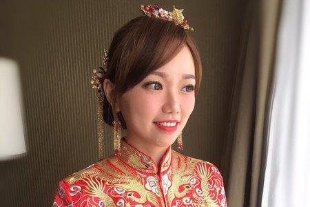 NEW~龍鳳掛造型/Ting婷 make up