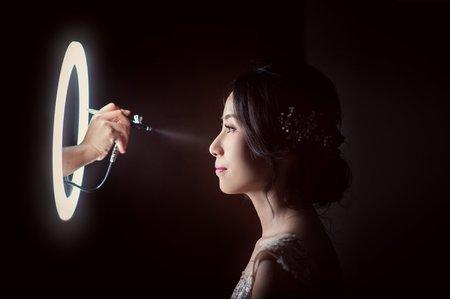 5/23氣質優雅文訂造型/Ting 婷 make up/噴槍彩妝