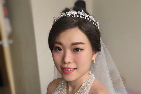 6/22婚禮造型搶先看/Ting 婷 make up