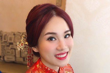 中式新娘/Ting 婷make up