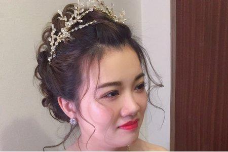 龍鳳掛/中式新娘/Ting make up/11/15婚宴作品