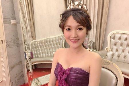 Ting婷 make up 婚宴皇冠氣勢公主造型/桃園宜蘭台北新秘