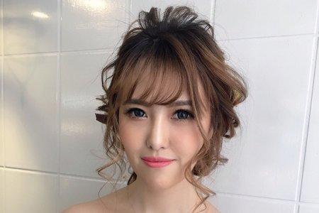 NEW~日系浪漫編髮造型/Ting婷make up/台北新秘/宜蘭新秘/桃園新秘