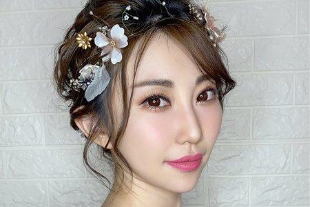 Ting婷 make up白紗精選造型/桃園新秘/台北新秘/宜蘭新秘