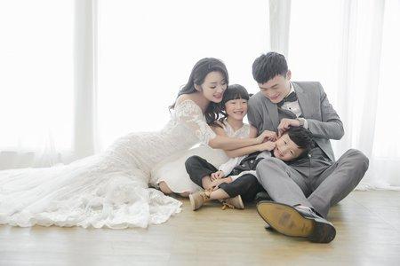 中壢婚紗攝影-全家福