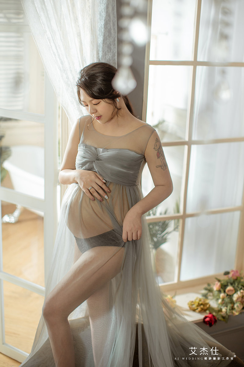 孕婦照作品
