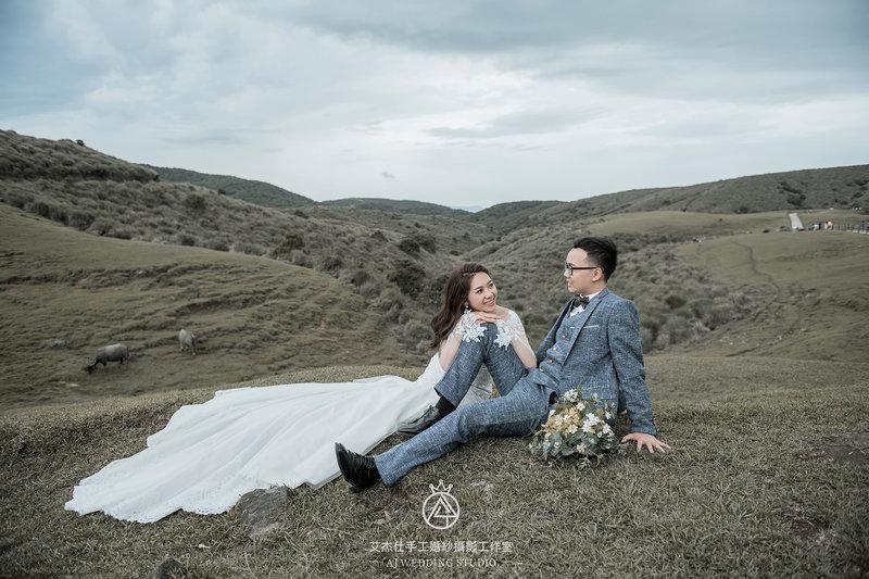 【結婚吧獨家優惠方案】春季婚紗展作品