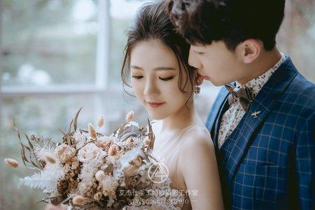 浪漫唯美 韓式小清新 中壢艾杰仕婚紗