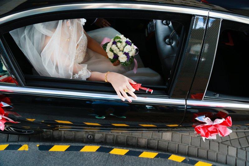 新娘上下禮車