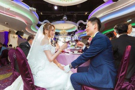 [中部婚攝] │ 家豪 + 云鈞 │ 婚禮紀錄 Amour阿沐茂園和漢美食館
