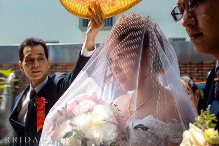[中壢婚攝]│來福星花園大飯店 迎娶午宴 婚禮攝影