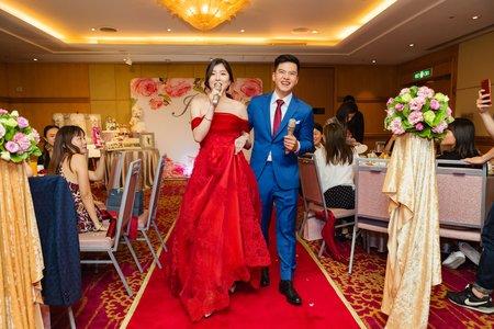 [婚攝]台北威斯汀六福皇宮| 晚宴紀錄 |